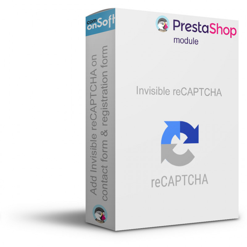 Module Prestashop 1.6 Invisible reCAPTCHA