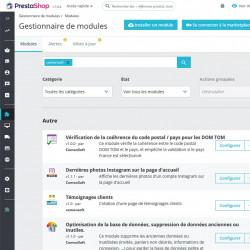 Module Prestashop pour interdire les codes postaux des DOM TOM en France