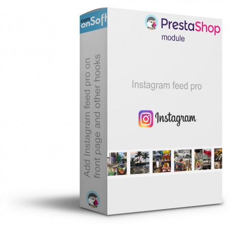 Prestashop Module Instagram Picture and Video Block