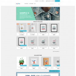 Prestashop module to display the list of web only products, slider on homepage . Bxslider or slick.