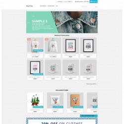 Module Prestashop pour afficher la liste des produits en exclusivité web dans un slider en page d'accueil.