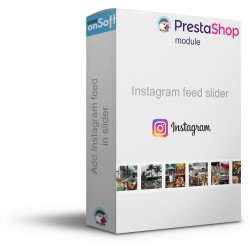 Module gratuit Prestashop Bloc Photo Instagram