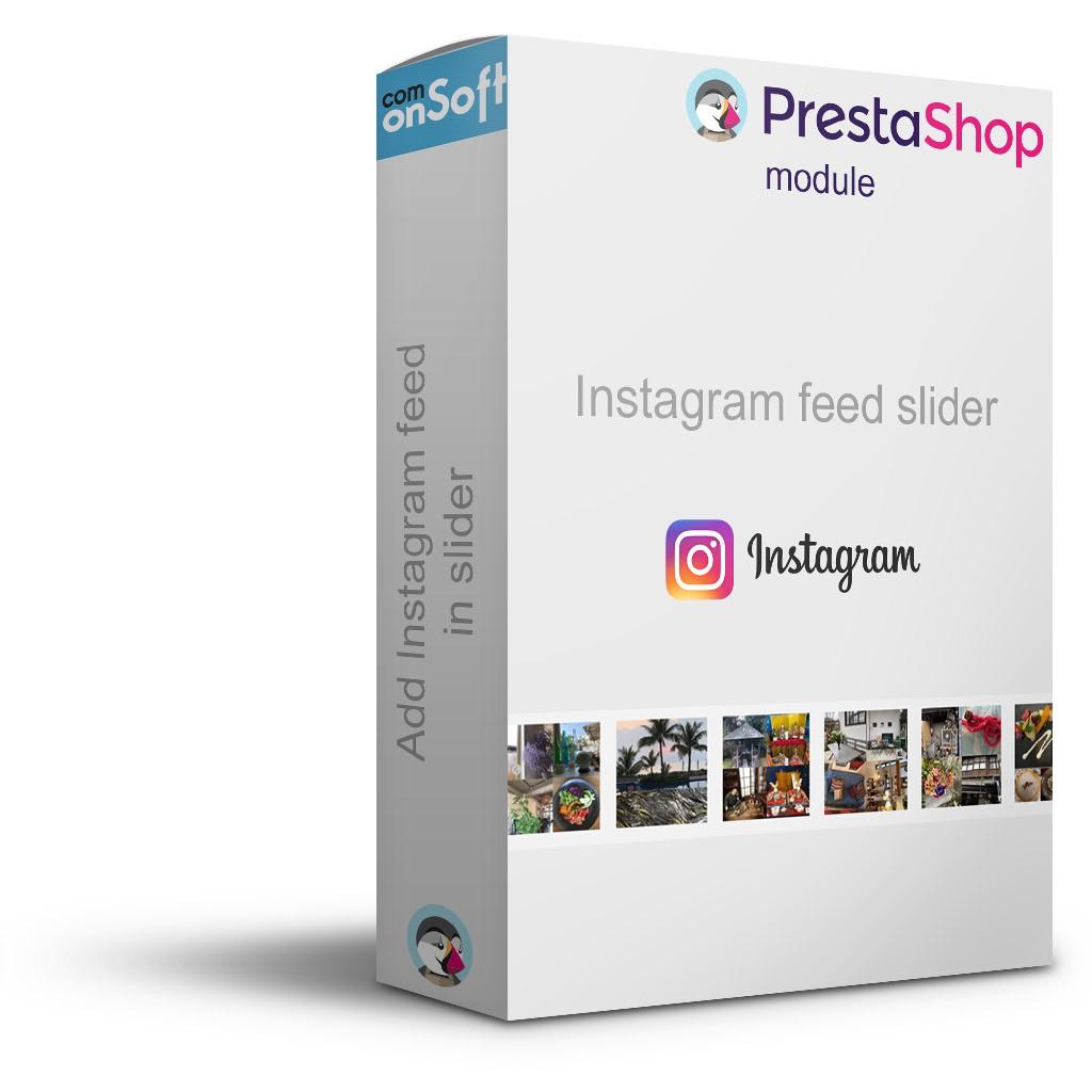 Module gratuit Prestashop Bloc Photo Instagram
