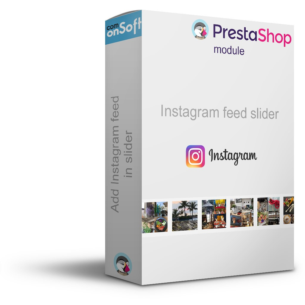 Free Prestashop Module Instagram Picture Block
