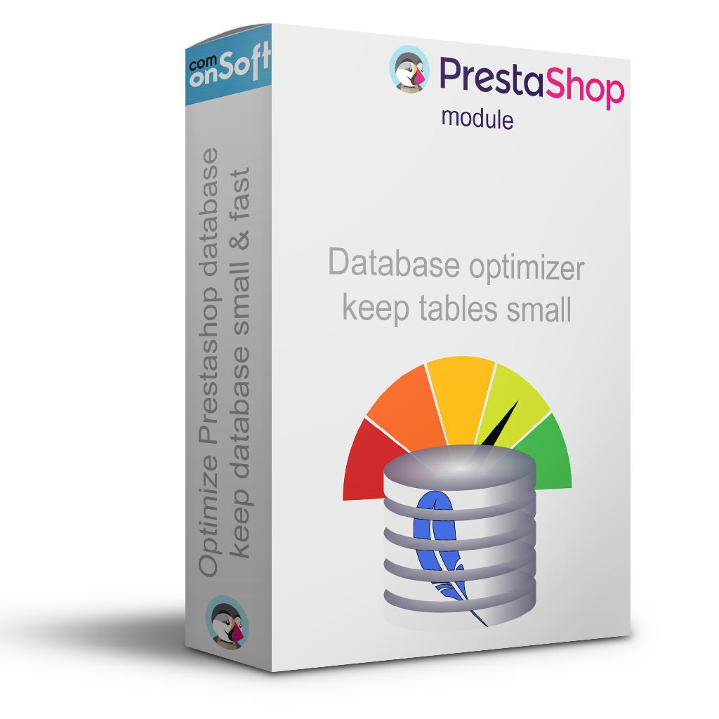 Prestashop module to optimise the database and keep it small and fast