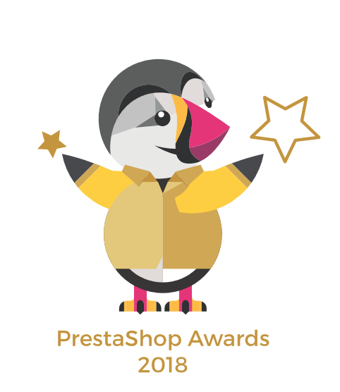 Prestashop award UX Design 2018 au Prestashop Day de Paris